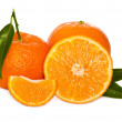 Stock Photo: Fresh tangerine