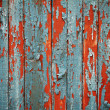 Weathered wooden fence background - Stock fotografie