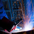 Welding iron — Stock Photo