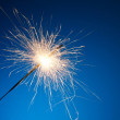 Royalty-Free Stock Photo: Holiday party sparkler