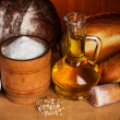 Stock Photo: Baking bread still-life