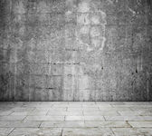 Concrete interior - room — Stock Photo