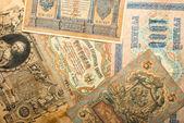 Fondo de dinero ruso antiguo — Foto de Stock