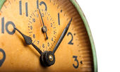 Close-up vintage uhr — Stockfoto