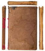 Libro d'epoca insieme i lati — Foto Stock