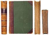 старинные книги стороны набор — Стоковое фото