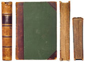 Vintage book sides set — Foto Stock