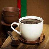 Dark coffee — Stock Photo