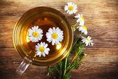 Hot herbal tea — Foto de Stock
