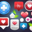 Medical Icon Vector Set — 图库矢量图片 #12364260