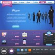 Business Website design vector elements — Stock vektor
