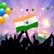 Stock Vector: National Celebration India