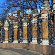 Fence of Mikhailovsky Garden — Stock Photo #11796338