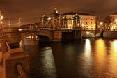 Lomonosov bridge — Stock Photo