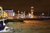 Arrow of Vasilevsky Island — Stock Photo