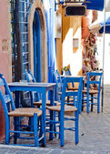 Greek tavern — Stock Photo