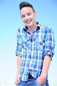 Cool tonåring — Stockfoto