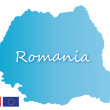 Romania — Vector de stock #11982009