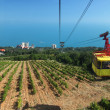 Crimea, Ropeway to Ai-Petri - Stock Photo