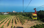 Crimea, Ropeway to Ai-Petri — Stock Photo