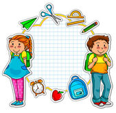 School set — Stock Vector
