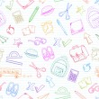Royalty-Free Stock Векторное изображение: School doodles