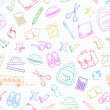 Royalty-Free Stock Imagen vectorial: School doodles