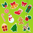 Christmas icons — Stock Vector #11459194
