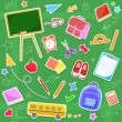 Back to school — Vector de stock #11470276