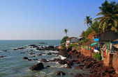 The coast of Goa — Stock Photo