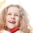 Little girl smiling. — Stock Photo #11431148