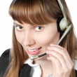 Helpdesk operator — Stock Photo