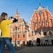 Riga old Town center — Stock Photo