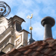 Rooftops of old houses in centre of RIga, Latvia — Stock Photo #11438925