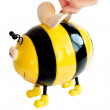 bee moneybox — Stock Photo