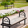 Royalty-Free Stock Photo: Benches in the park
