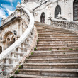 Grand stairs of the church — Stock Photo