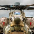 Battle chopper — Stockfoto