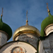 Suzdal church domes — Stockfoto