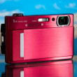 Compact digital camera — Stockfoto
