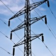 Electric transmission line - Stock Photo
