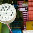 Stock Photo: Factory clock