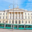 Tram in Helsinki — Stock Photo