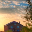 Brick house — Stockfoto