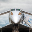 Supersonic jet plane — Stock Photo