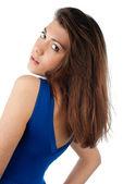 Krásná mladá žena — Stock fotografie
