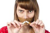 Stop smoking concept — Stock Photo