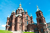 Uspenski Orthodox Church in Helsinki, Finland — Stock Photo