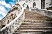 Grand stairs of the church — Foto de Stock