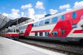 Helsinki treinstation — Stockfoto